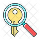 Search Keyword Keyword Magnifying Icon