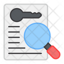 Search Keyword Keyword Analysis Web Keyword Icon