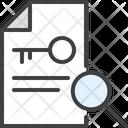 Key Keyword Clue Icon