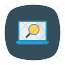Search laptop Icon