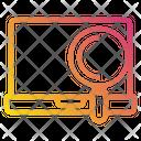 Labtop Computer Data Icon