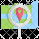 Search Map Navigation Icon
