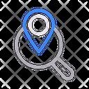 Search Location Map Icon