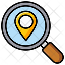 Search Location Find Location Search Direction Icon