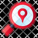 Search Location Pin Icon