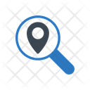 Map Search Location Icon