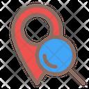 Pin Search Location Icon