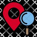 Pin Location Data Icon