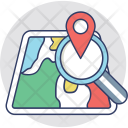 Search Location Find Icon