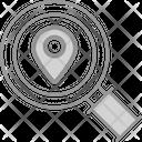 Location Search Pin Icon