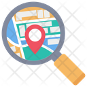 Search Location Find Location Map Icon