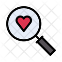 Love Search Dating Icon
