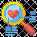 Search Love Search Zoom Icon