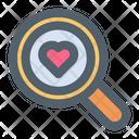 Search Love Search Date Valentine Icon