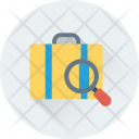Search Luggage Airport Icon
