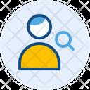 Search Man User Icon
