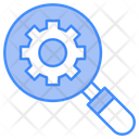 Search Management Search Setting Management Icon