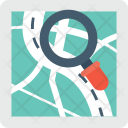 Search Map Exploring Icon