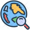 Seo Web Global Icon