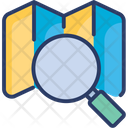 Search Map Find Look Icon