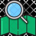 Search Map Search Location Search Destination Icon