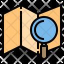 Map Travel Data Icon