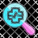 Health Cross Search Icon