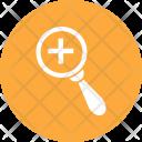 Medicine Search Magnifier Icon