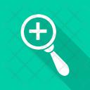 Search Medicine Magnifier Icon