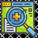 Search Medicine Search Doctor Icon