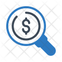 Audit Search Finance Icon