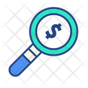 Search Money Auditing Accounting Icon