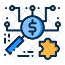 Business Search Money Icon