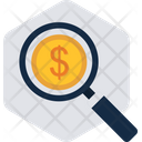 Search Money Finance Icon