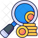 Search Money Magnifier Icon