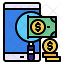 Mobile Find Money Icon
