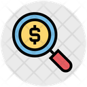 Search Money Search Finance Icon