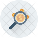 Search Finance Commerce Icon