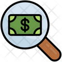 Search Money Dollar Find Icon