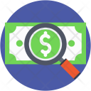 Search Money Find Icon