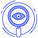 Search Monitoring Seo Eye Monitoring Icon