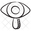 Search Monitoring Observation Investigation Icon