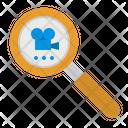 Search Video Files Icon