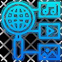 Search Multimedia Icon