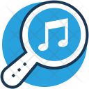 Music Magnifier Find Icon