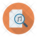 Search music file Icon