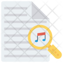 Search Music Files Icon