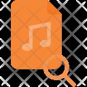 Search Audio File Icon