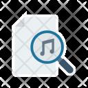 Search music file Icon