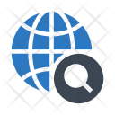 World Search Global Icon